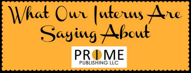 Prime Publishing Interns