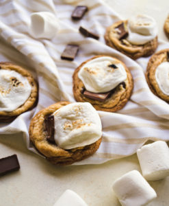 Toasted S'mores Cookies