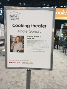 Addie Gundry Cooking Theater