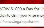 WOW $100 a Day for Life